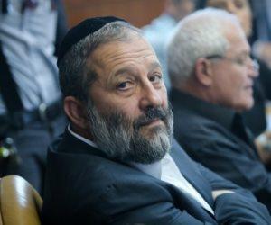 التحقيق مع وزير الداخلية الإسرائيلي في شبهة فساد