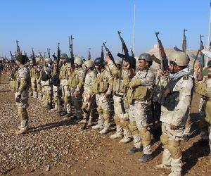قوات الحشد الشعبي والقوات الأمنية تواصلان تطهير ناحية «عكاشات» بالأنبار