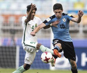 المنتخب السعودي يخسر من أوروجواى بهدف ويودع مونديال الشباب بشرف