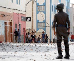 اشتباكات بين الشرطة المغربية ومحتجين شمال البلاد (صور)