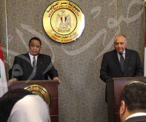 «شكري»: العلاقات بين مصر والسودان مقدسة.. و«الغندور»: وقف الصادرات أمر فني في توقيت خطأ(صور)