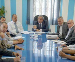 بالصور  وزير التجارة والصناعة يجتمع باصحاب المدابغ فى مدينة الروبيكى