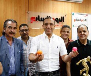 قرعة الدورة الرمضانية لمجموعة «إعلام المصريين» (فيديو وصور)