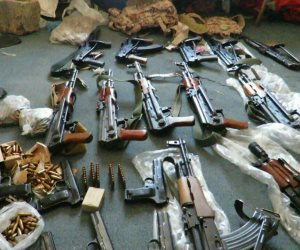 القبض على عاطل بحوزته 5 أسلحة نارية و58 طلقة بكفر الشيخ