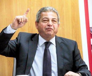 وزير الرياضة يبحث « تجميل » حفل ختام مونديال السلة