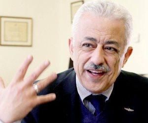 وزير التعليم أشاد بتعليم جنوب سيناء لتنفيذ الخطة الاستثمارية