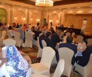 """مؤتمر صحفي لحازم فهمي لعرض نتائج برامج وكالة """"المصرية للشراكة من أجل التنمية"""""""