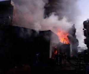 إصابة 4 أشخاص بسبب انفجار اسطوانة بوتاجاز بأوسيم