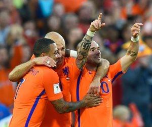 منتخب هولندا يتأهل لدور الـ 16 فى يورو 2020 بثنائية ضد النمسا (فيديو)
