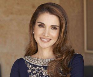 الملكة رانيا تحتفل بذكرى زواجها من ملك الأردن