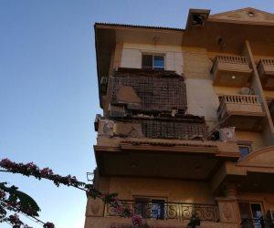 حى وسط الإسكندرية يخلى 3 عقارات بعد انهيار جزئى فى مبنى مجاور بالعطارين