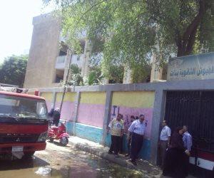 اختناق طلاب بالثانوية العامة داخل لجنة بباب الشعرية بسبب حريق