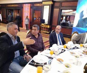 أبو ريدة ومحمود طاهر فى حفل إفطار مصر المقاصة (صور)