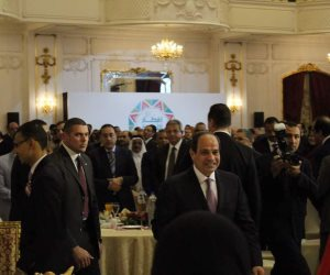 نشاط الرئيس السيسي في أسبوع.. إفطار الأسرة المصرية الأبرز (فيديو)