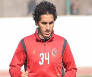 أحمد حمدى يتقدم بالهدف الأول للأهلى أمام المصري فى الدقيقة 18