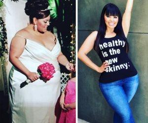 عارضة أزياء تثير الاعجاب بعد أن فقدت 250 كيلو  من وزنها.. قررت ونفذت