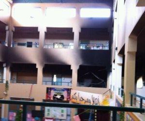 لرسوبهم.. ثلاثة طلاب وراء إشعال الحريق بمدرسة ثانوي بقنا