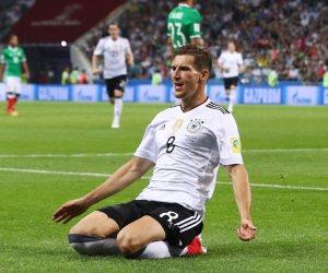 «ليون جوريتسكا» يفوز بجائزة أفضل لاعب في مباراة ألمانيا والمكسيك