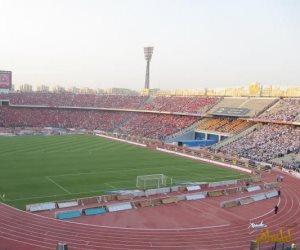 5 كاميرات و500 كرسى تلفيات في ستاد القاهرة عقب مباراة الأهلي ومونانا