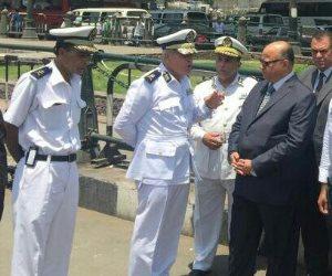 اللواء خالد عبدالعال يتابع تأمين احتفالات المواطنين بفوز السيسي