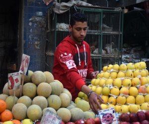 أسعار الفاكهة اليوم.. 5 جنيهات للموز و12 للمانجو و 28 للبطيخة الواحدة (صور)