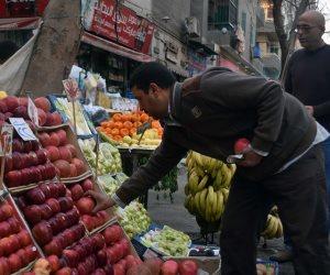 أسعار الفاكهة اليوم الجمعة.. 5 جنيهات للموز و12 للمانجو و28 للبطيخة الواحدة