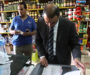 ضبط 96 قطعة حلوى منتهية الصلاحية في حمله تموينية بالغربية