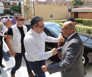 محافظ المنوفية يستقبل وزير الآثار لزيارة قرى المحافظة