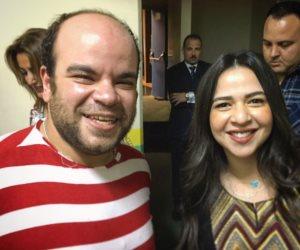 محمد عبد الرحمن برفقة إيمي سمير غانم عبر «إنستجرام»: «إيمي السُكر»