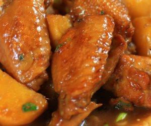 هتعملى غدا ايه بكرا؟؟.. طريقة عمل دجاج بالبطاطس وأرز حبة وحبة