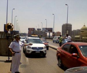 انسابية مرورية بالمحاور والطرق الرئيسية في ظل انتشار جيد لرجال المرور