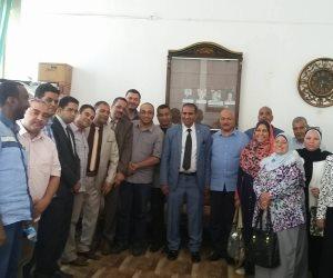 رئيس جامعة أسوان يلتقي بأعضاء هيئة التدريس الجدد في كلية الخدمة الاجتماعية