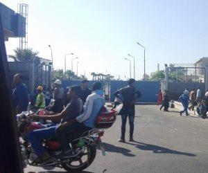 السيطرة على حريق بشركة سيدبك بالإسكندرية (صور)