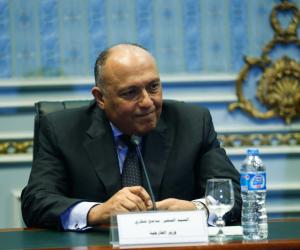 شكري في مهمة دبلوماسية بالعراق.. يلتقي الرئيس ونائبه عقب تحرير الموصل