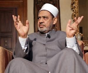 الإمام الأكبر يستقبل ولي العهد السعودي في مكتبه بمشيخة الأزهر