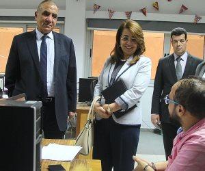 غادة والي تزور «المركزي للإحصاء» عقب انتهاء المرحلة الأولى من تعداد السكان