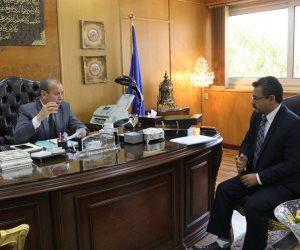 مسؤول متابعة مشروعات مجلس الوزراء يشيد بمجهودات محافظة دمياط