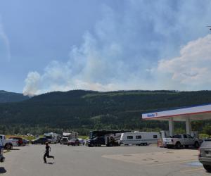 تمديد حالة الطوارئ مجددا في إقليم كندي بسبب انتشار حرائق الغابات