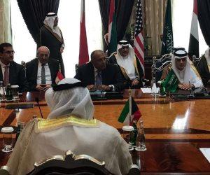 انطلاق اجتماع وزراء الخارجية العرب بالرياض دون وزير خارجية قطر