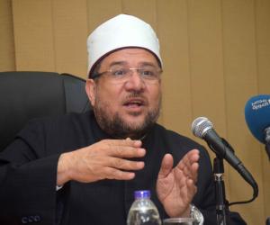 وزير الأوقاف يصل ديوان عام محافظة القليوبية لأداء صلاة الجمعة بمسجد ناصر بمدينة بنها