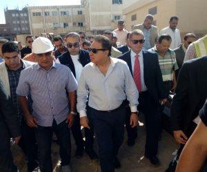 وزير الصحة: الإنتهاء من أعمال التطوير بمستشفى بلطيم المركزي أكتوبر المقبل (صور)
