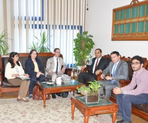 رئيس جامعة دمنهور يستقبل وفد السفارة الألمانية استعدادًا لـ«ألمانيا في دلتا النيل»