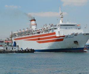 تداول 17 سفينة بمينائي شرق وغرب بورسعيد خلال 24 ساعة