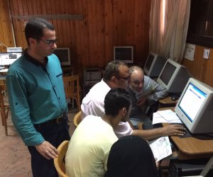 مكتب تنسيق جامعة المنصورة يستقبل 490 من طلاب المرحلة الأولى (صور)