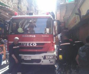 السيطرة على حريق داخل شقة سكنية فى الدرب اﻷحمر بالقاهرة