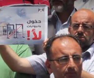 رجال دين فلسطينيون ينظمون وقفة نصرة للأقصى (صور)