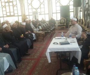 وكيل أوقاف الإسكندرية يجتمع بأئمة إدارتي شرق ووسط لتفعيل استراتيجية البناء الدعوي (صور)