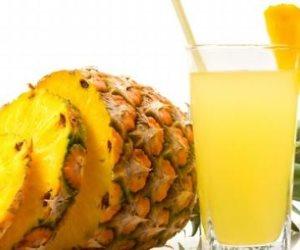 مشروب الأناناس والتفاح والصبار للتخلص من مشاكل القولون وطرد السموم من الجسم