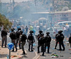 قوات الاحتلال تعتقل 4 فلسطينيين خلال مواجهات في مدينة الخليل