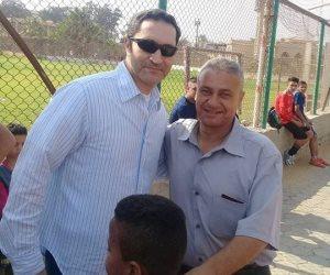 لماذا تخلى علاء مبارك عن انتمائه «الزملكاوي» من أجل عيون «عمر»  (صور وفيديو)